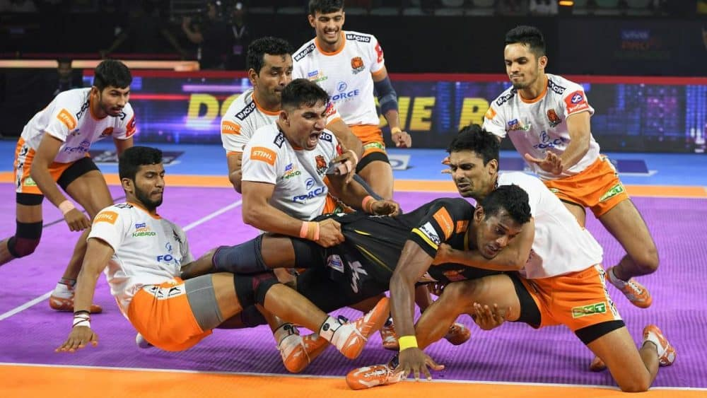 Kabaddi on the list of the What are the Strangest Sports around the World?