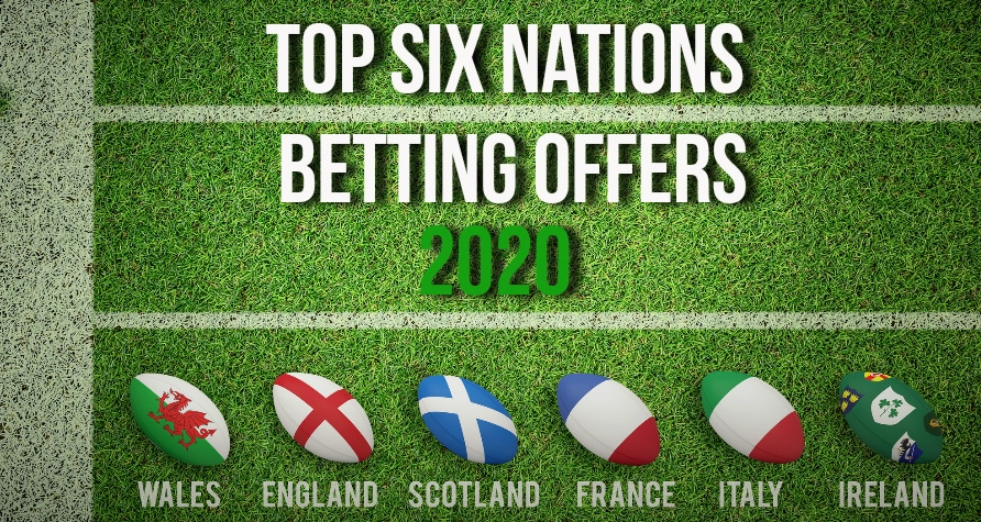 Rugby Betting Offers for 2020
