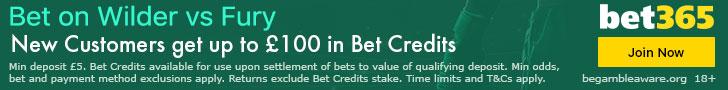 Wilder Fury 2 fight Betting Odds