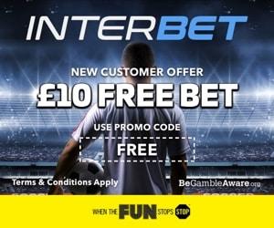 Interbet free bet