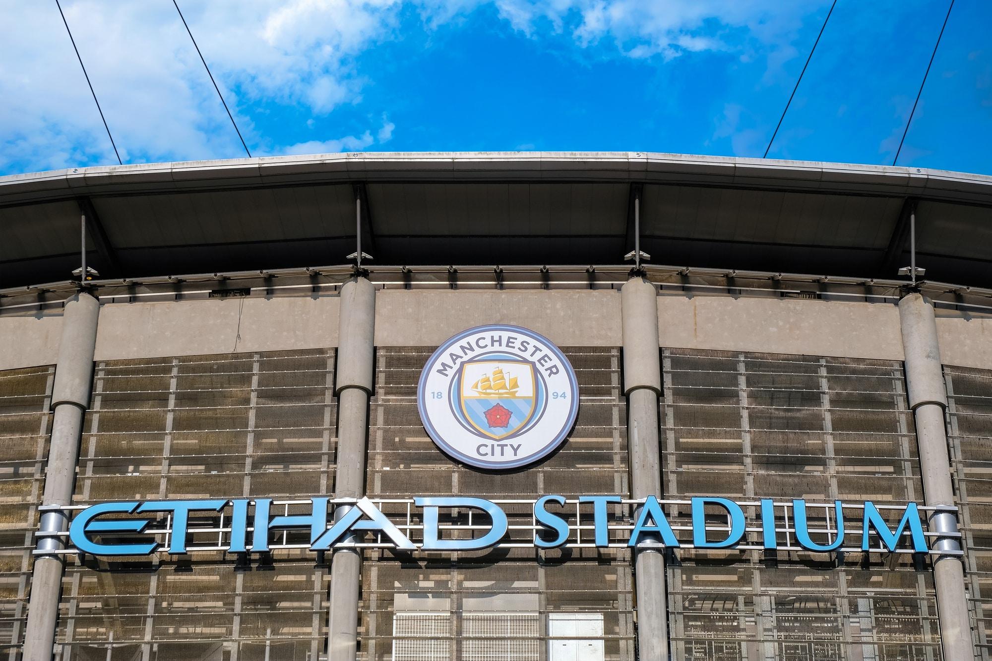 Etihad stadium Manchester City vs West Ham