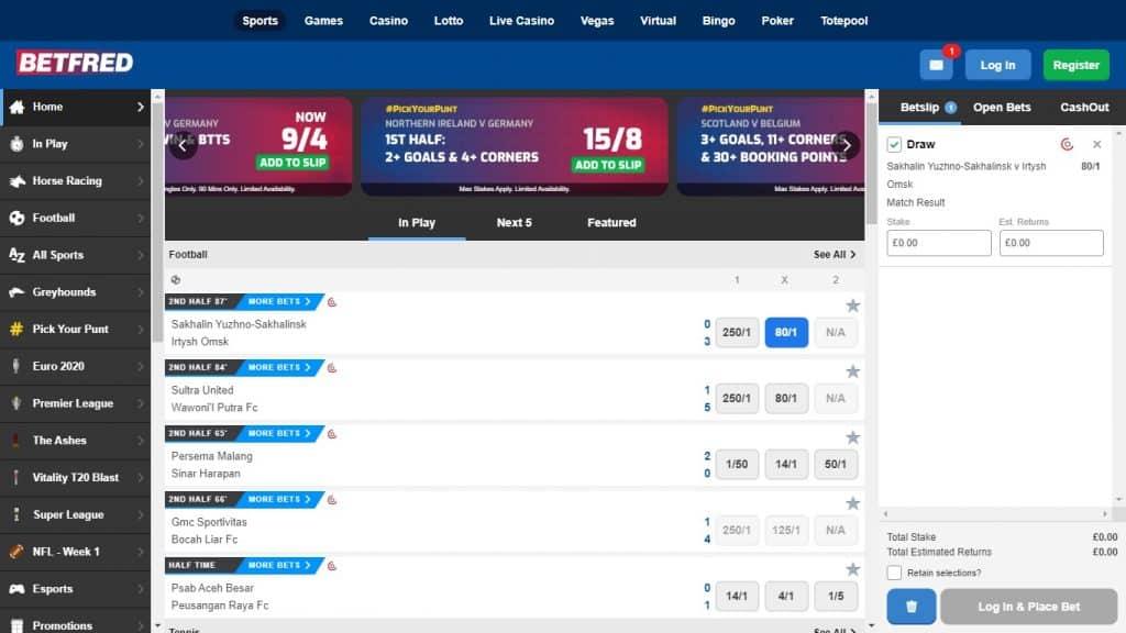 Betfred Free Bet Review in 2021