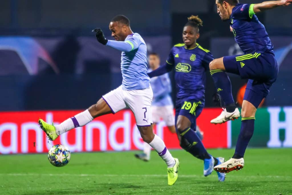 English Premier League: Odds for Top 4 finish - raheem sterling