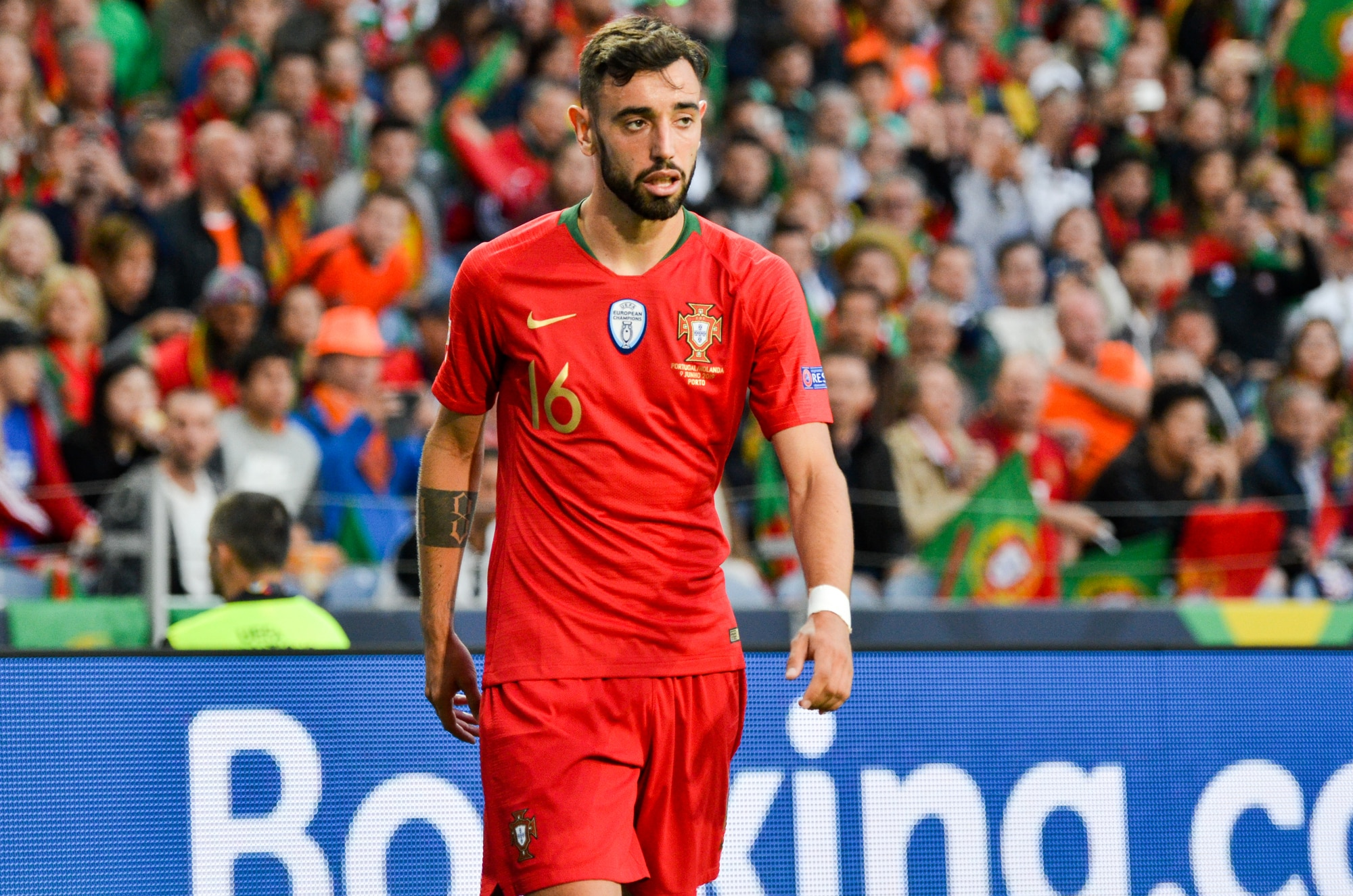 Bruno Fernandes will be playing in the Manchester Utd game