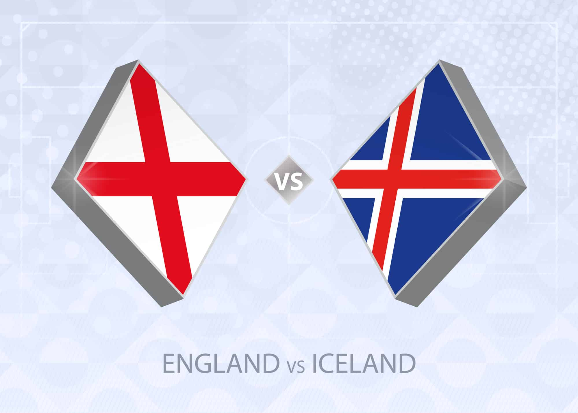England vs Iceland - Three Lions favourites to take the Wembley game