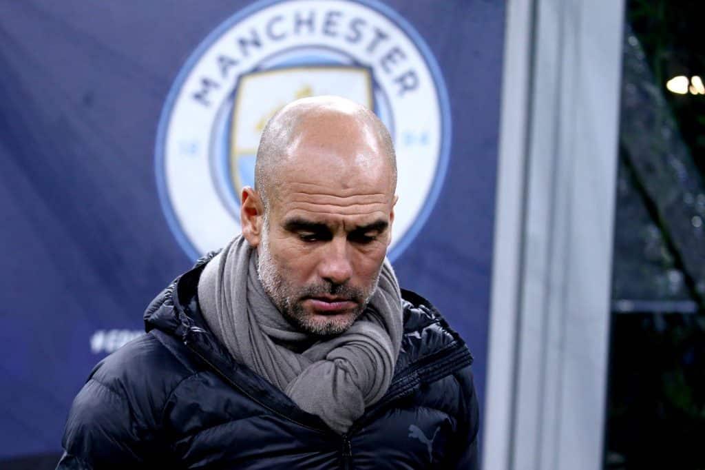 Pep Guardiola Manchester City Top 4 odds