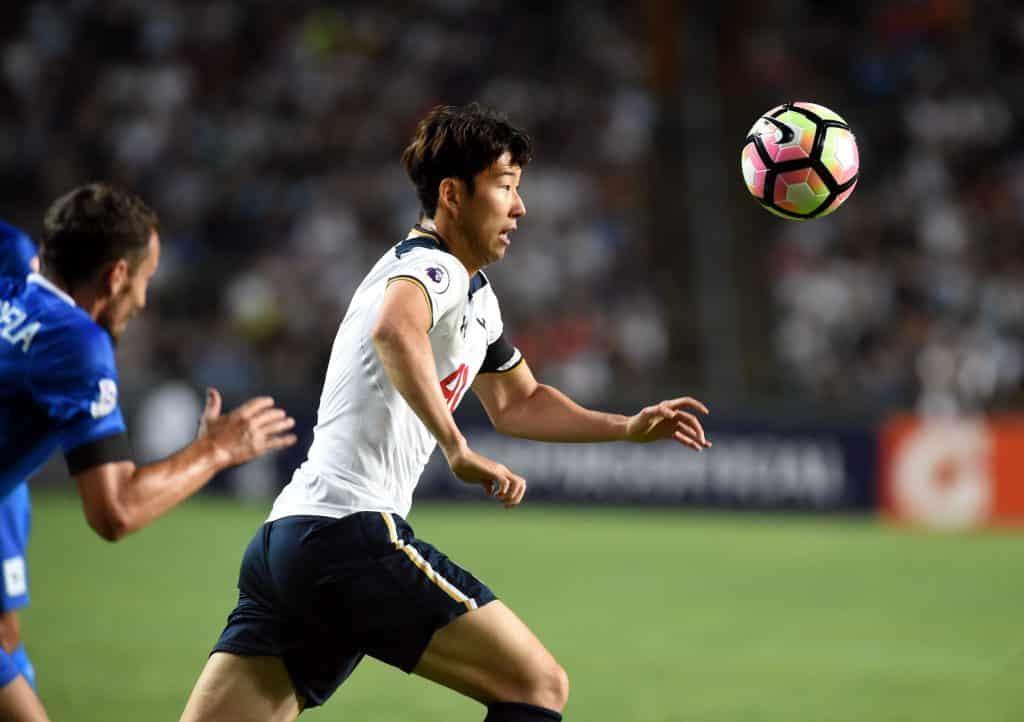 Son Heung-min Tottenham Hotspur 2 Manchester City 0