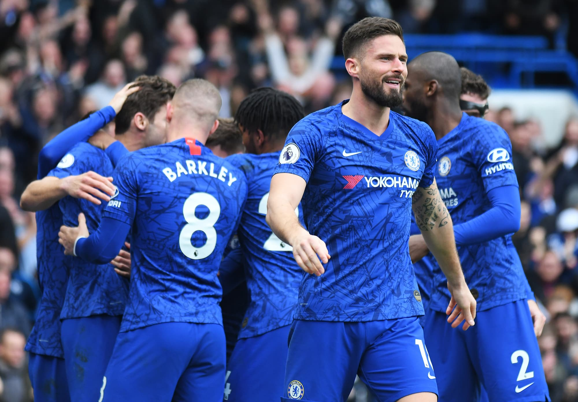 Olivier Giroud should figure in the Chelsea vs Leeds United