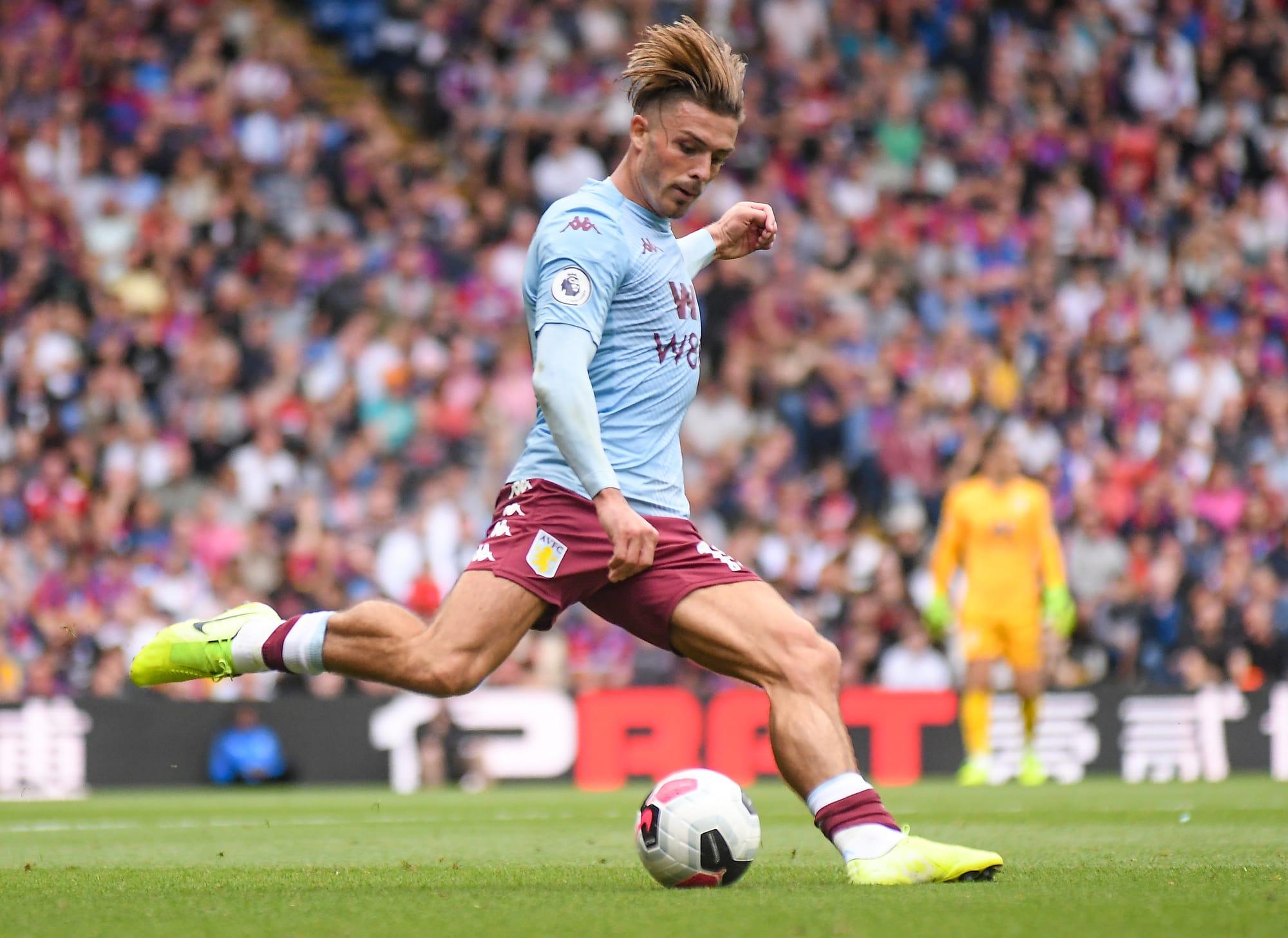 Jack Grealish of Villa