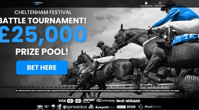 Cheltenham Festival Tournament with prizes worth up to £25,000