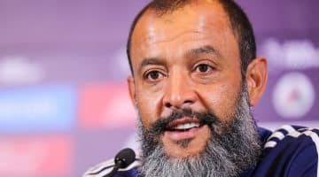 Nuno Espirito Santo heads the Sack race in the odds