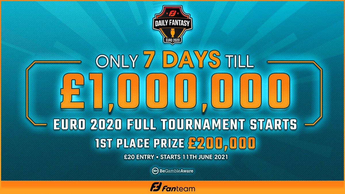 £1M EURO 2020 Fantasy Tournament